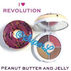 3/$15 Revolution Donut Eyeshadow Peanut Butter